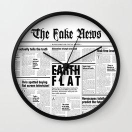 The Fake News Vol. 1, No. 1 Wall Clock