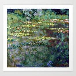 Claude Monet Water Lilies Art Print