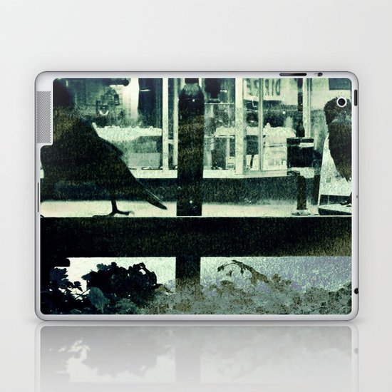 Small town afternoon Laptop & iPad Skin