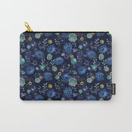 Cindy large floral print Carry-All Pouch