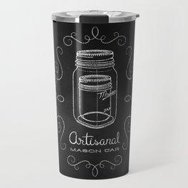 Artisanal Mason Jar Travel Mug
