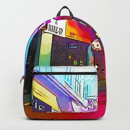 Hollywood Boulevard in the night Backpack