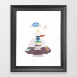 Supercharly! Framed Art Print