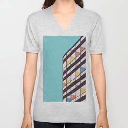 Le Corbusier Unisex V-Neck
