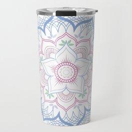 Decorative tribal Mandala Travel Mug
