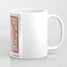Vintage stamp USA Coffee Mug