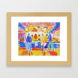 La Boqueria I Framed Art Print