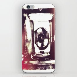 Digital Drawing of a Very Old Fashioned Camera iPhone Skin