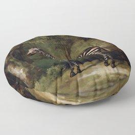 George Stubbs - Zebra Floor Pillow