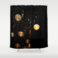 chandelier Shower Curtains featuring Chandelier by Inaereaedificare
