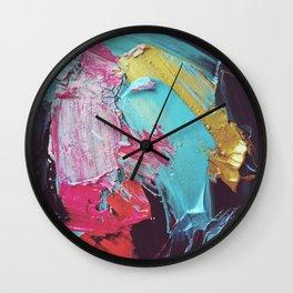 Alla Prima Wall Clock