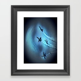 flight of angels Framed Art Print