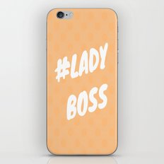 #LADYBOSS iPhone & iPod Skin