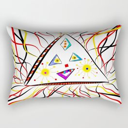 Trina Triangle Rectangular Pillow