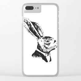 Mr. Rabbit Clear iPhone Case
