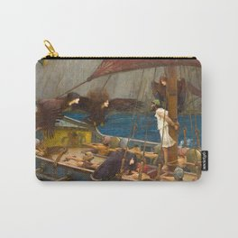 John William Waterhouse - Ulysses and the Sirens, 1891 Carry-All Pouch