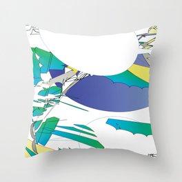 Color #2 Throw Pillow