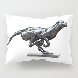 Black panther hematite Pillow Sham