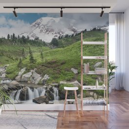 Mt. Rainier, Edith Creek Wall Mural