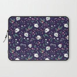 Skull Floral Laptop Sleeve