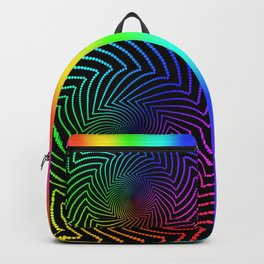 Happy Rainbow Trails Backpack
