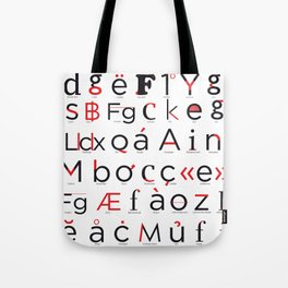 Know your Type Tote Bag