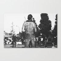 rockabilly Canvas Prints featuring Rockabilly Japan by Aimee Stoddart