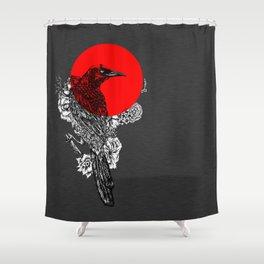 Grackle  Shower Curtain
