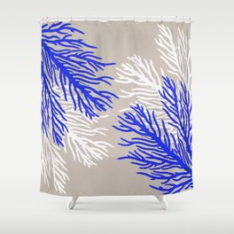 Coral Pattern Shower Curtain