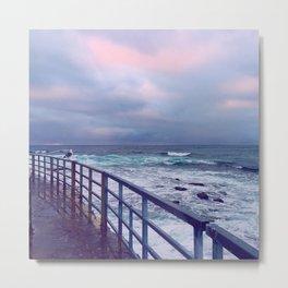 Ocean Path Metal Print
