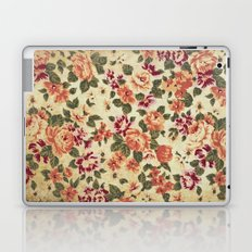 Retro flower pattern Laptop & iPad Skin