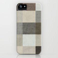 color block - gray Slim Case iPhone (5, 5s)