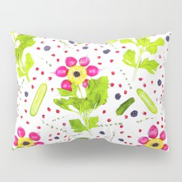 Fruits and vegetables pattern (15) Pillow Sham