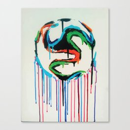 Bleed World Cup Canvas Print