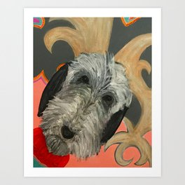 That Dog Art Print