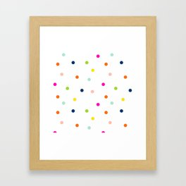 Hello Dotty Framed Art Print