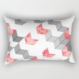 Elegant Minimalist Geometric Pattern Rectangular Pillow