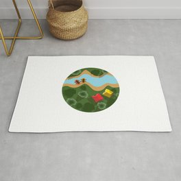 Relax, it's summer! ~ Camping Rug