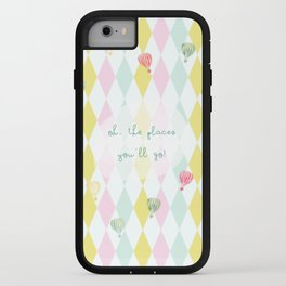 Oh, the places you'll go iPhone Case