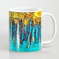 andreas preis Mugs featuring :: Party On :: by :: GaleStorm Artworks ::