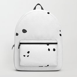 Splashes... or pandas? Backpack