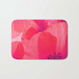 Red Poppies #decor #society6 #buyart Bath Mat