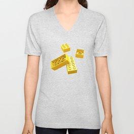 Duplo Yellow Unisex V-Neck