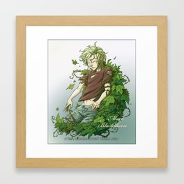 Mark Blackthorn Framed Art Print