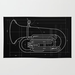 Geometric Tuba Rug