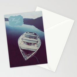 Tranquil Waters - Thank you card Stationery Cards