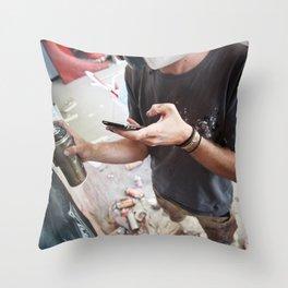 Matt Adnate, Berlin 2011 Throw Pillow