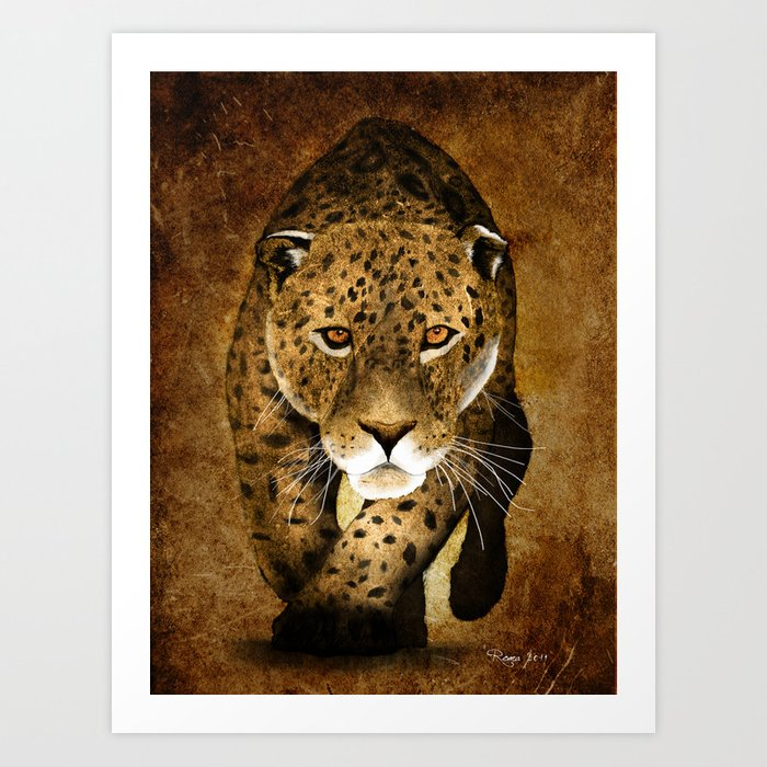 The Leopard Art Print By Roma2011 Society6