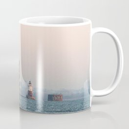 Lighthouse & Staten Island Ferry Coffee Mug