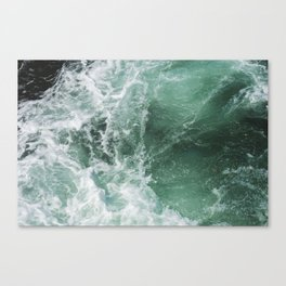 Turbulent Waters Canvas Print